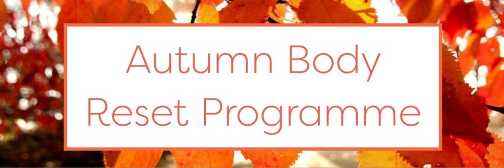 autumn body reset programme